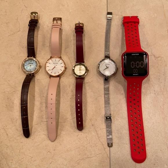 Armitron Watch Bundle - 5 Watches